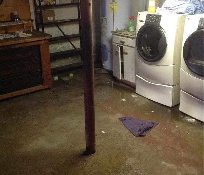 Basement Water Damage In Morristown, NJ