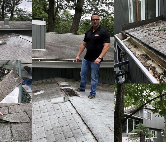 Water Damage The importance of cleaning your gutters