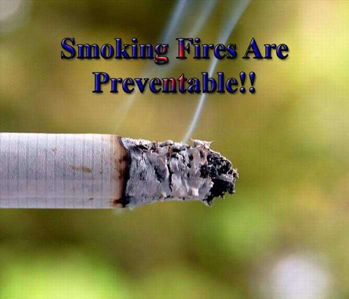 Fire Damage Smoking Fires Are Preventable!!